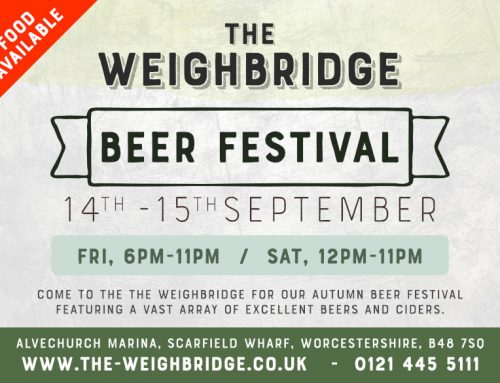 Alvechurch Beer Festival 14th / 15th Sept 2018